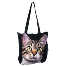 3D Macskás kids táska - cirmos 4