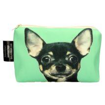 Chihuahua mintás kozmetikai táska