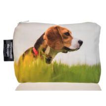 Beagle mintás kozmetikai táska