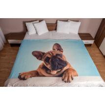 Francia Bulldog ágytakaró 3