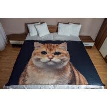 Macskás ágytakaró 2