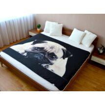 Mopsz ágytakaró