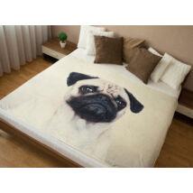 Mopsz ágytakaró 2