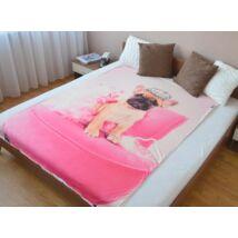Francia Bulldog ágytakaró
