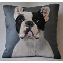 Francia Bulldog mintás párna 2
