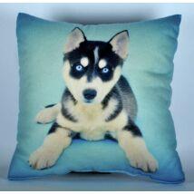 Husky mintás párna - puppy