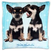 Chihuahua mintás párna