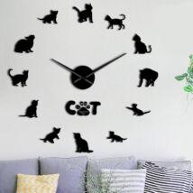Macskás falióra