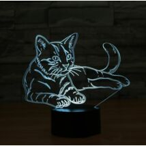 Macskás Led lámpa