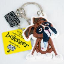Boxer kulcstartó - w&w