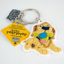 Golden Retriever kulcstartó - w&w