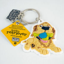 Golden Retriever kulcstartó - w&w
