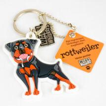 Rottweiler kulcstartó - w&w