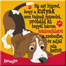 Beagle hűtőmágnes - w&w