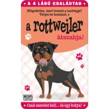 Rottweiler fém ajtótábla