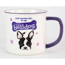 Francia Bulldog bögre - w&w