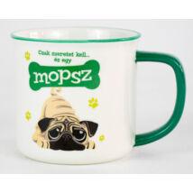 Mopsz bögre - w&w