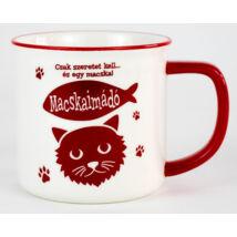 Macskaimádó bögre - w&w