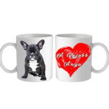 Francia Bulldog bögre - a legjobb Anya