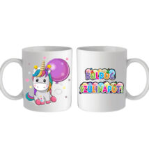 Unikornisos bögre - Boldog születésnapot