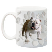 Angol Bulldog bögre - xoxo