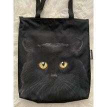 Fekete macskás táska