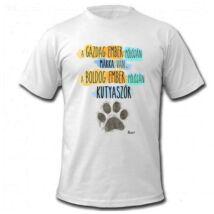 Kutyás férfi póló