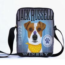 Jack Russell-terrier oldaltáska