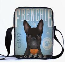 Francia Bulldog oldaltáska