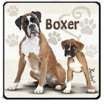 Boxer hűtőmágnes