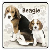 Beagle hűtőmágnes