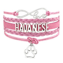 Havanese karkötő - rózsaszín
