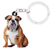 Angol Bulldog kulcstartó