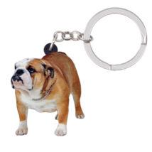 Angol Bulldog kulcstartó 2