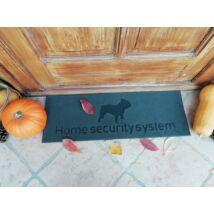 Bulldogos lábtörlő - Home security system