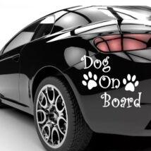 Dog On Board matrica