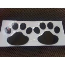 Kutya tappancs matrica autóra - fekete