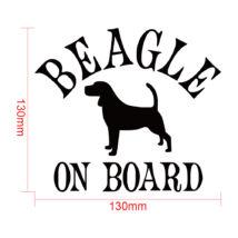 Beagle on board matrica