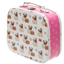 Mopszos bőrönd