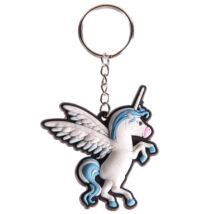 Unikornis kulcstartó - kék