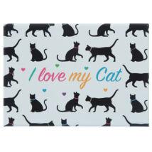 I love My Cat hűtőmágnes