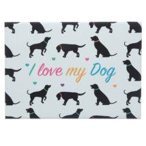 I love My Dog hűtőmágnes