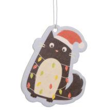 Karácsonyi cicás autóillatosító 2