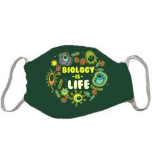 Iskolás maszk - biology is life