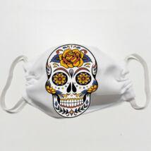 Mexican skull mintás szájmaszk