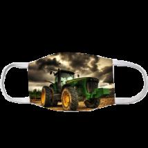 Traktor mintás szájmaszk