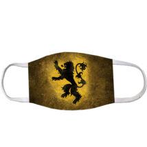 Trónok harca mintás szájmaszk - Lannister
