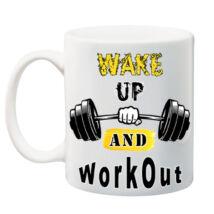 Motivációs bögre - workout