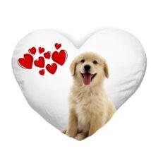 Golden Retriever szívecskés párna - puppy
