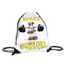 Mopszos hátizsák - workout